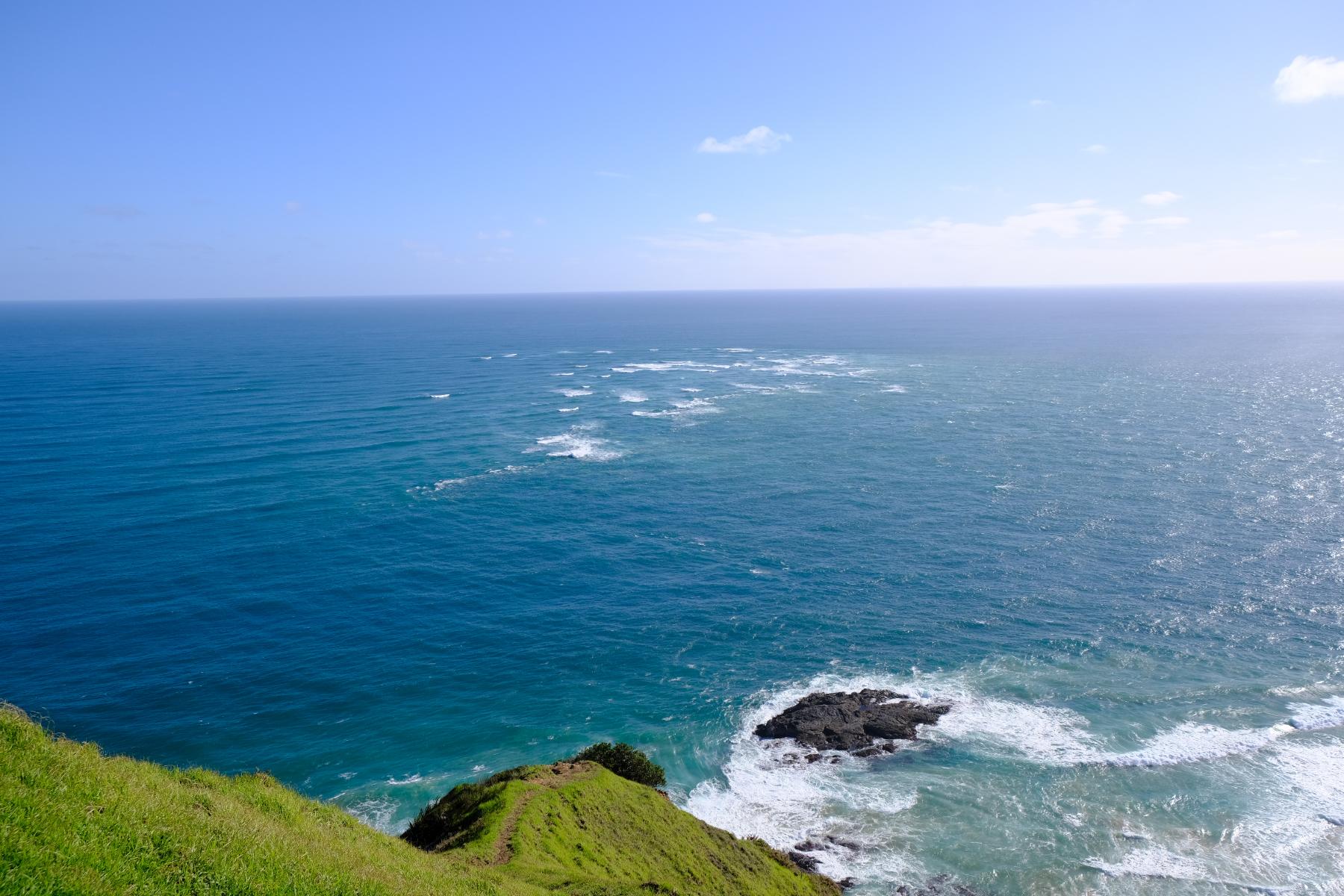 Tasman Sea trifft Pazifischen Ozean