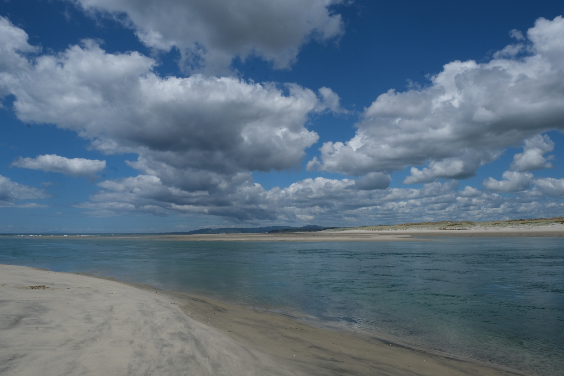Einfahrt in die Laguna von Mangawhai Heads