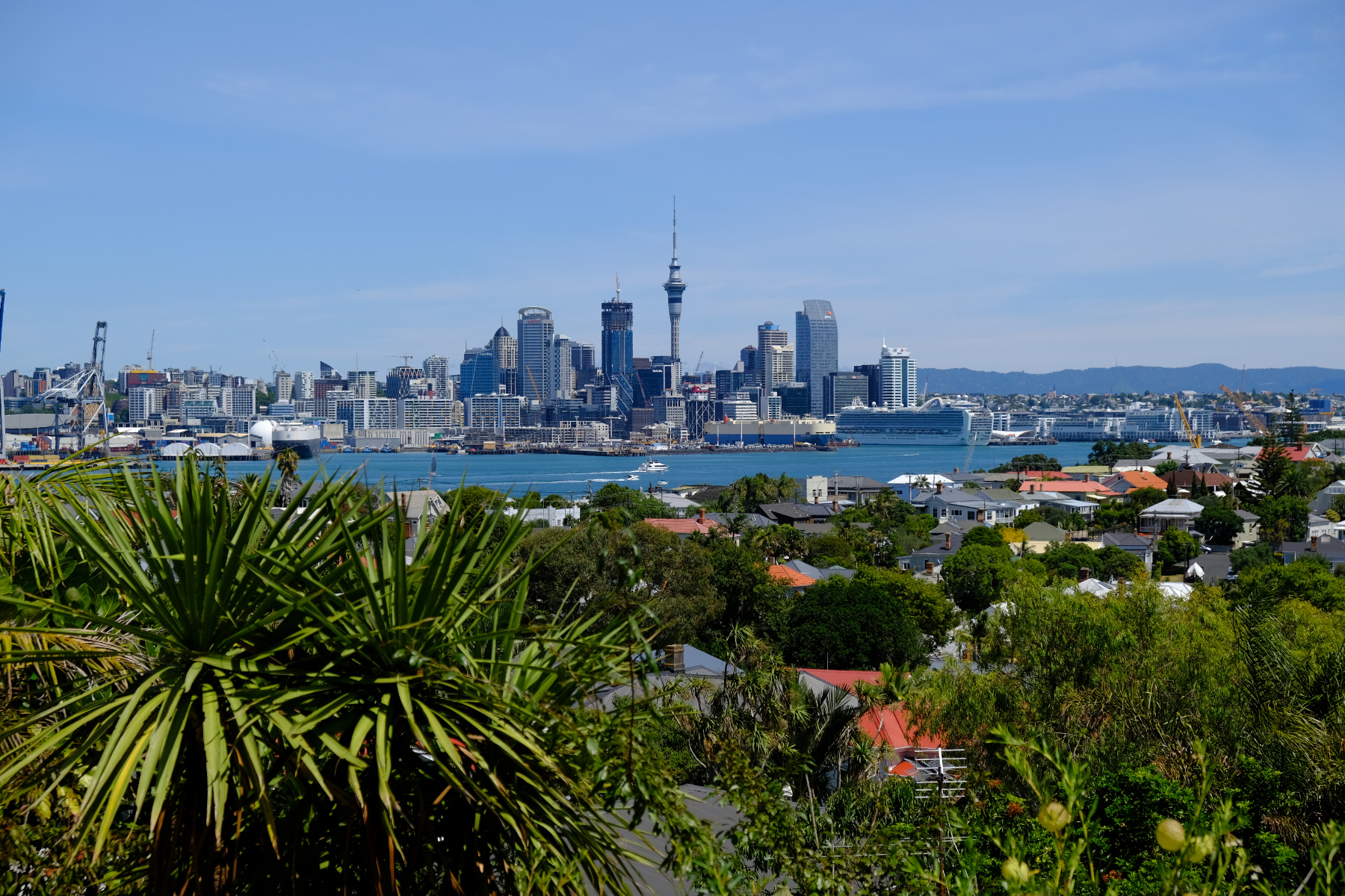 From Devenport to Auckland