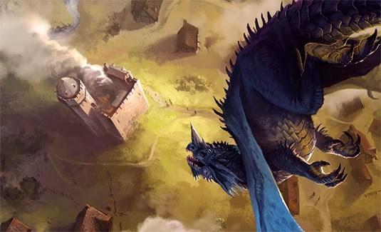 Der Angriff des blauen Drachen