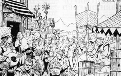 Das Straßenfest