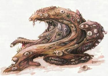 Ugly Monster aus der Realitätsnische