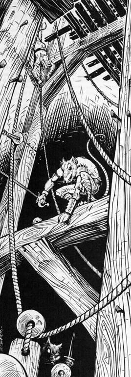 Ratten im Glockenturm