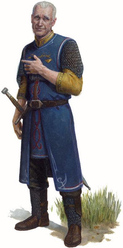 Ein Soldat der Blauen Garde aus Sul Akir