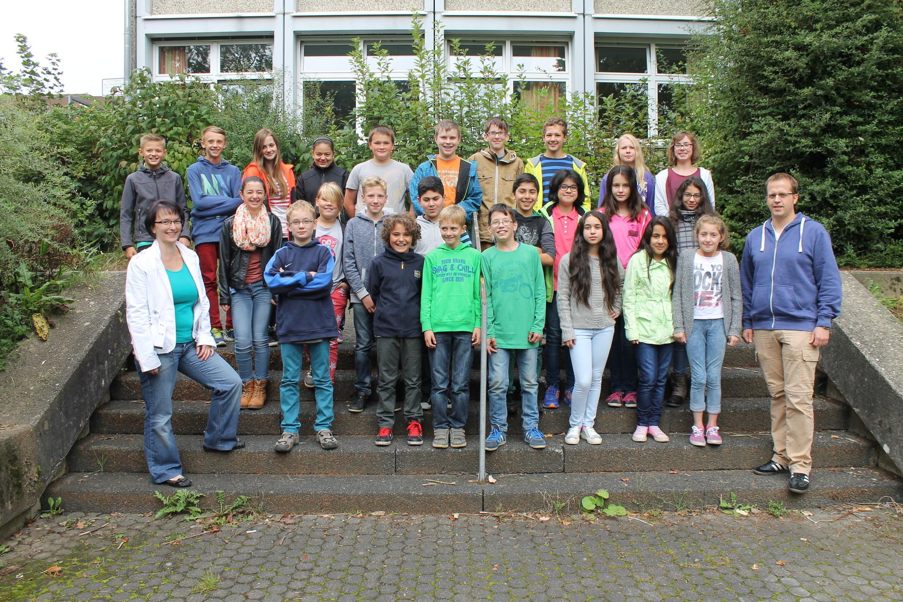 6d - Klassenlehrer: Frau Schulz und Herr Womelsdorf