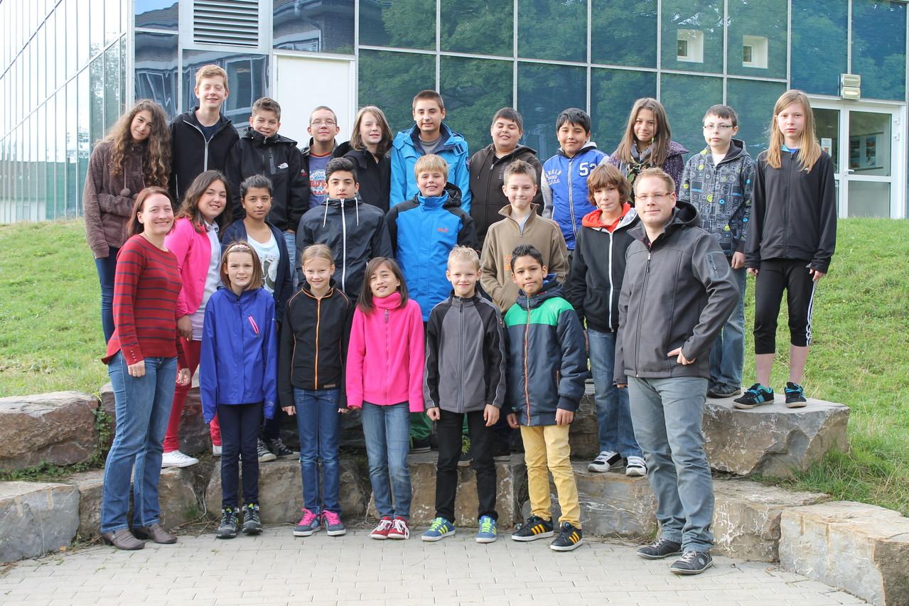 6c - Klassenlehrer: Frau Gipperich und Herr Clever