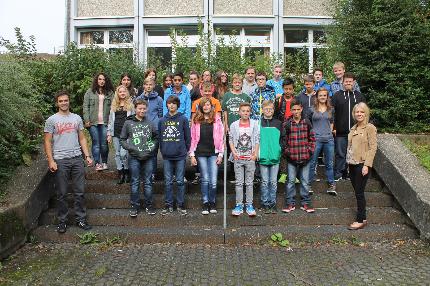 7b - Klassenlehrer: Frau Blefgen und Herr Reuter
