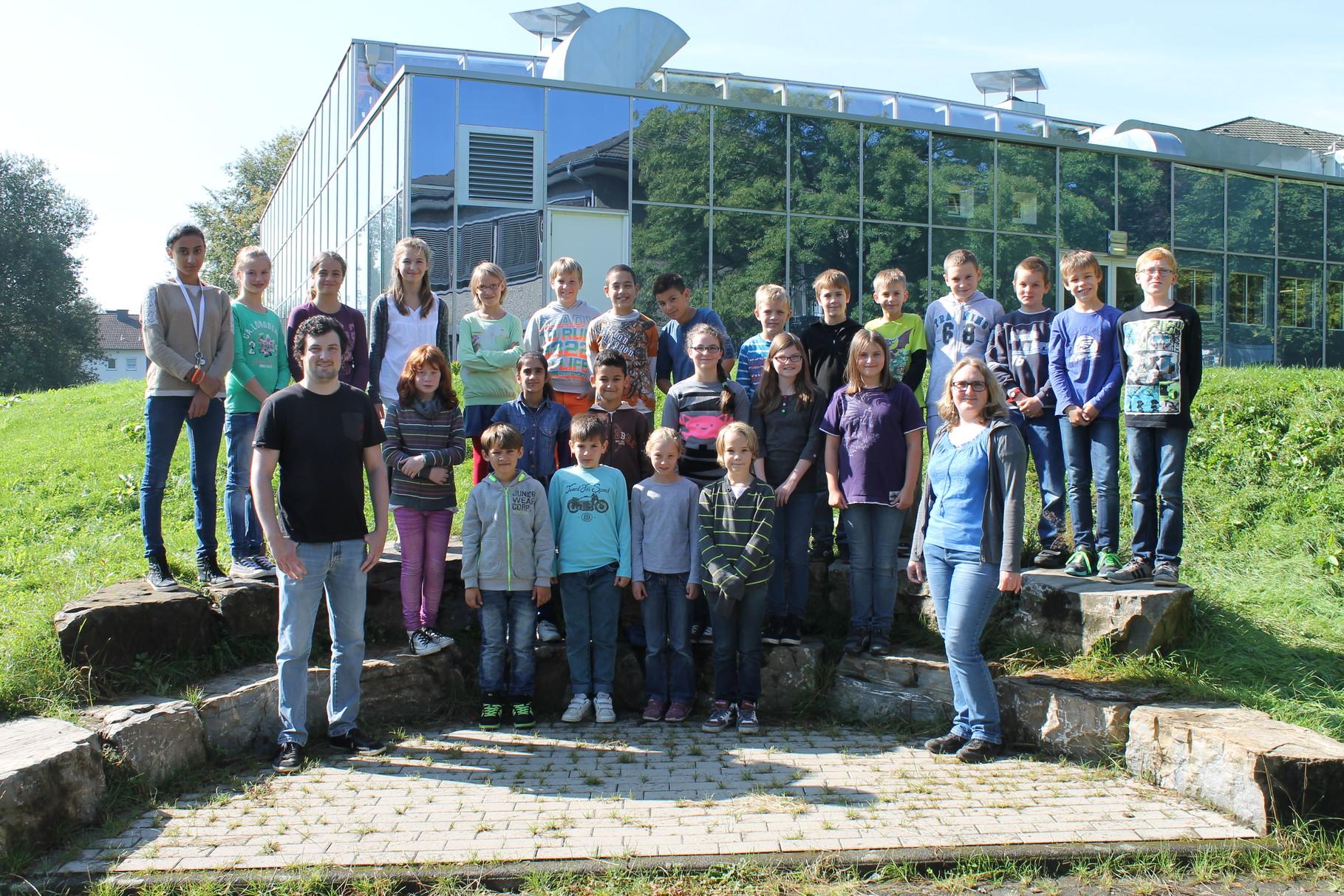 5c - Klassenlehrer: Frau Drach und Herr Weber