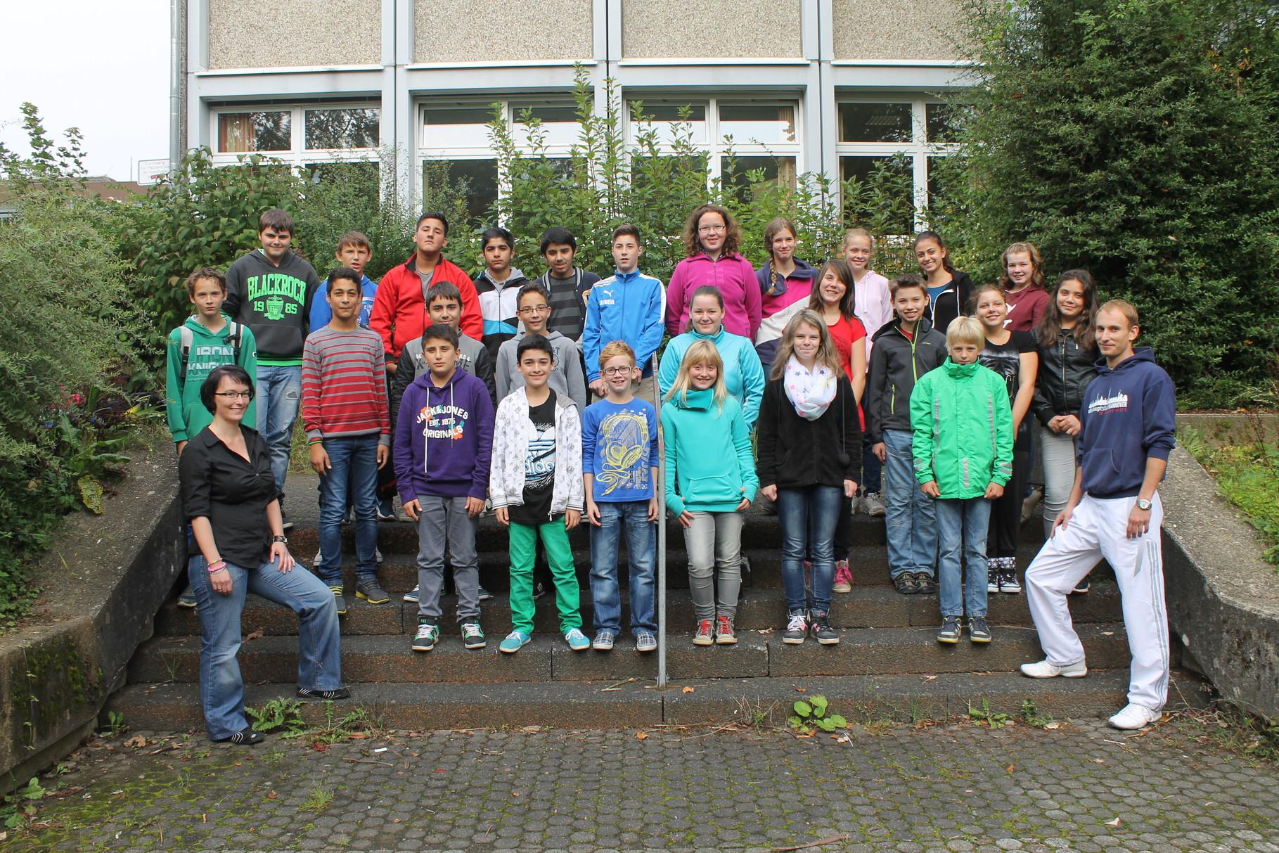 7a - Klassenlehrer: Frau Schulz und Herr Drepper