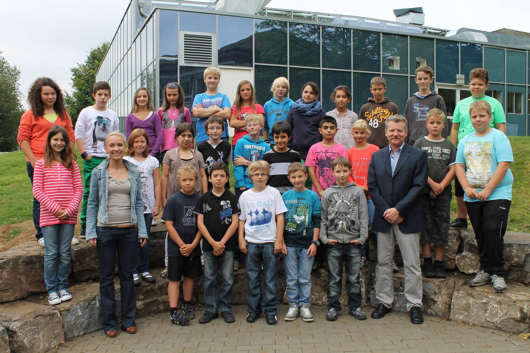5b - Klassenlehrer: Frau Blefgen und Herr Bachhausen