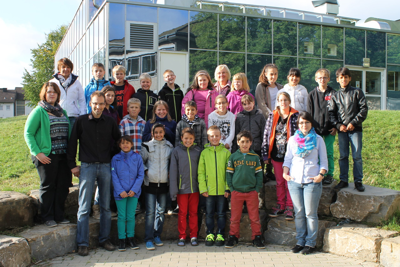 5a - Klassenlehrer: Frau Fick und Herr Arns
