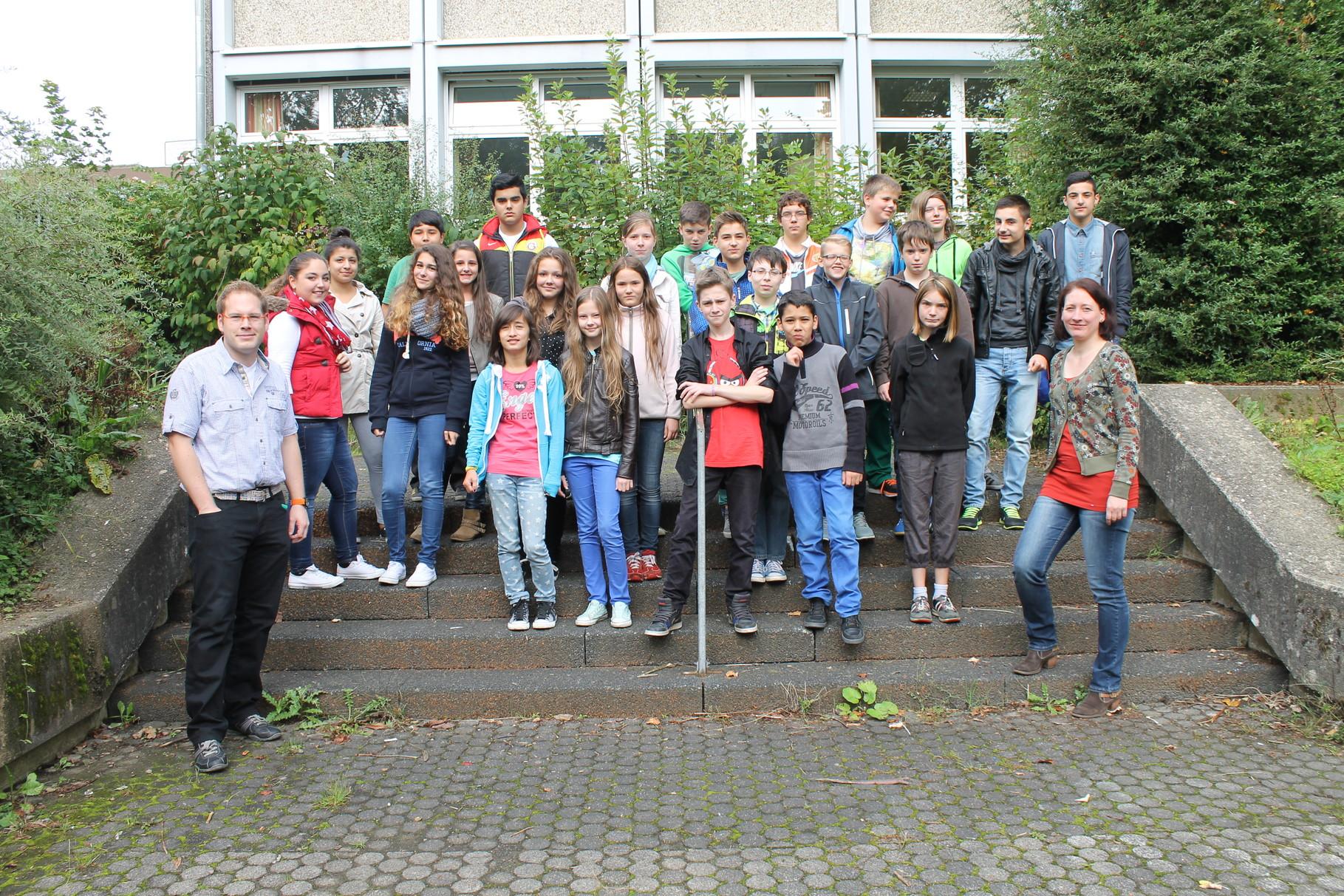 7c - Klassenlehrer: Frau Gipperich und Herr Clever