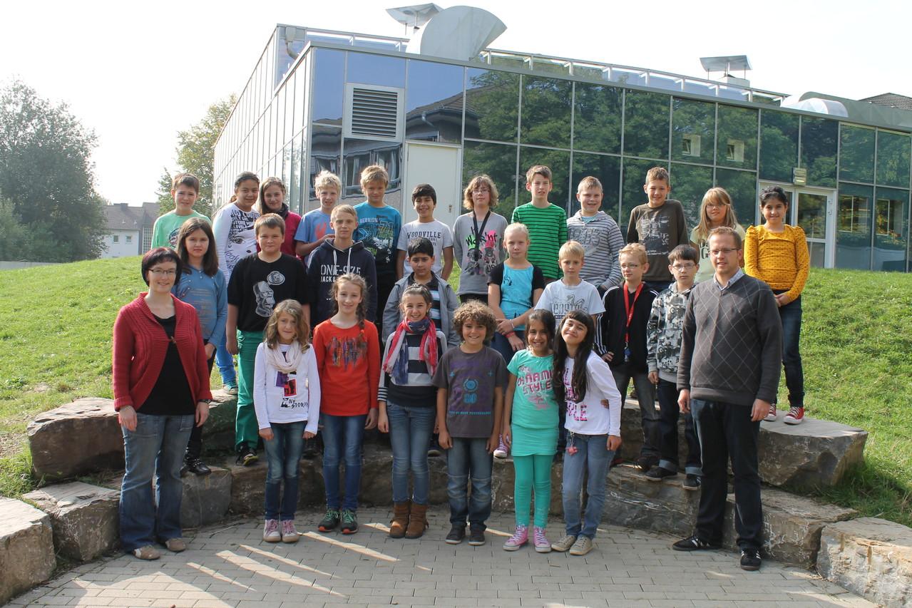 5d - Klassenlehrer: Frau Schulz und Herr Womelsdorf