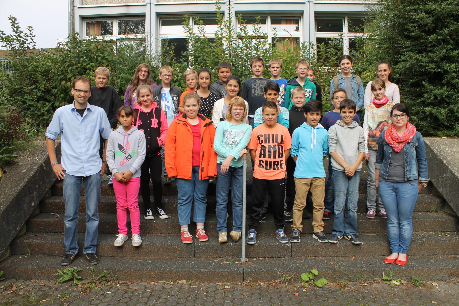 6a - Klassenlehrer: Frau Becker und Herr Arns