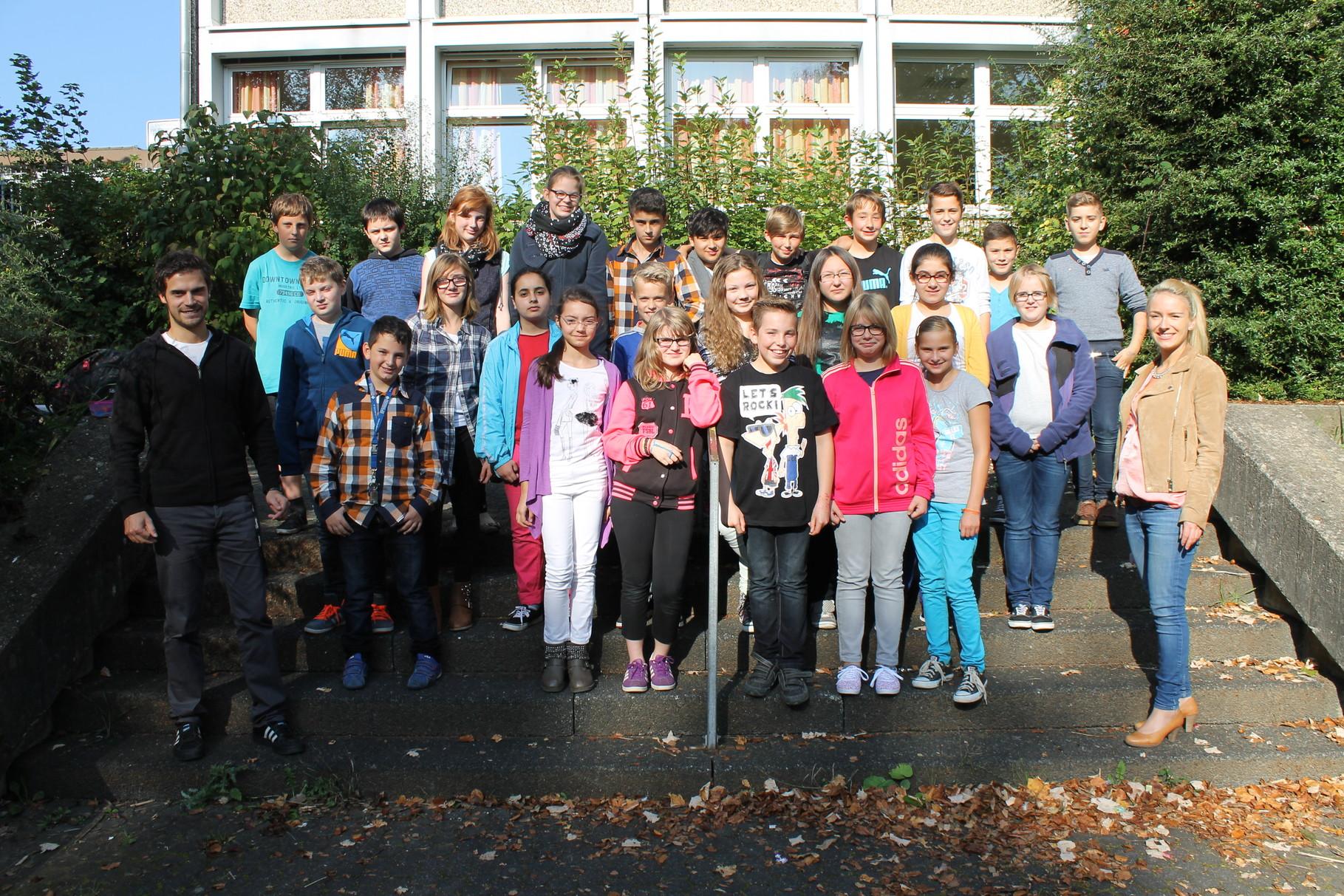 6b - Klassenlehrer: Frau Blefgen und Herr Reuter