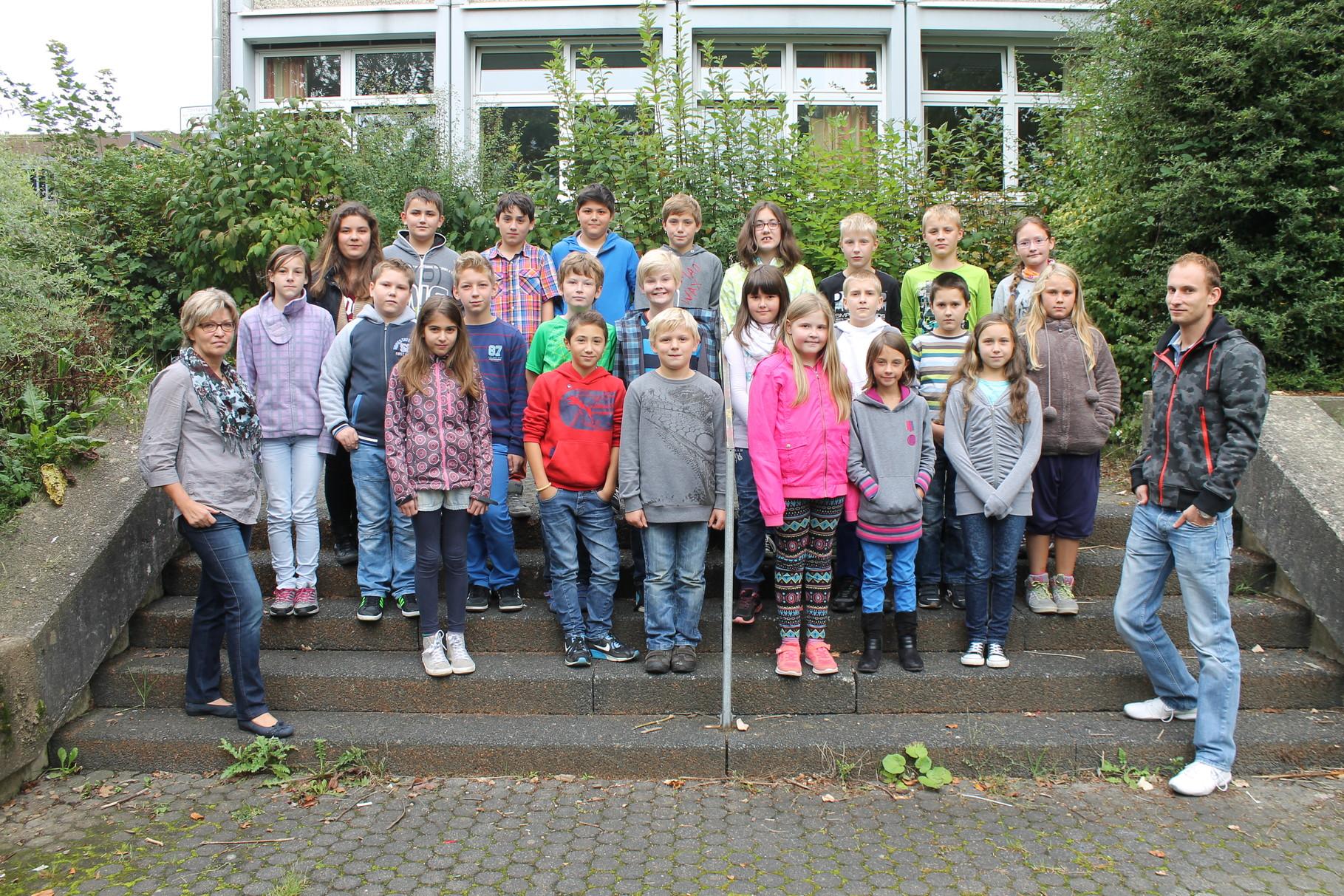 5d - Klassenlehrer: Frau Hochstein und Herr Drepper
