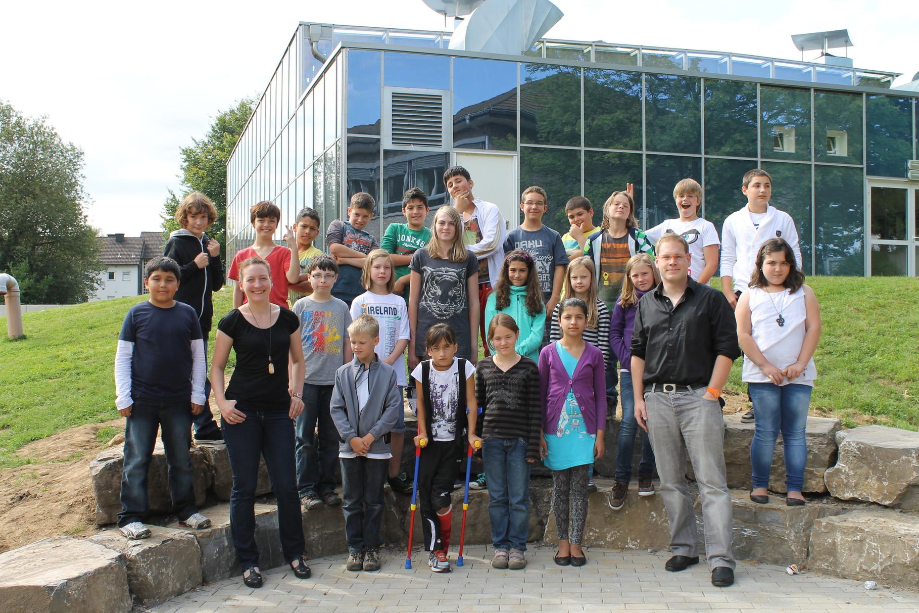 5c - Klassenlehrer: Frau Gipperich und Herr Clever