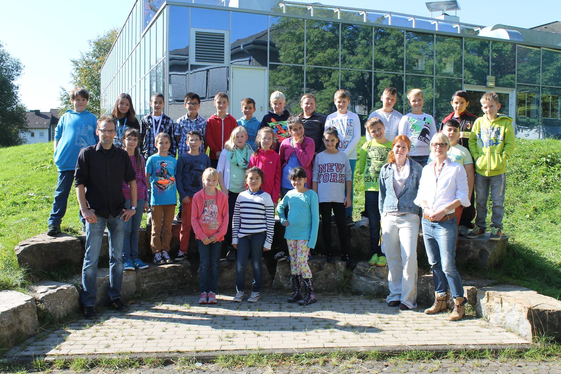 5a - Klassenlehrer: Frau Saße und Herr Arns