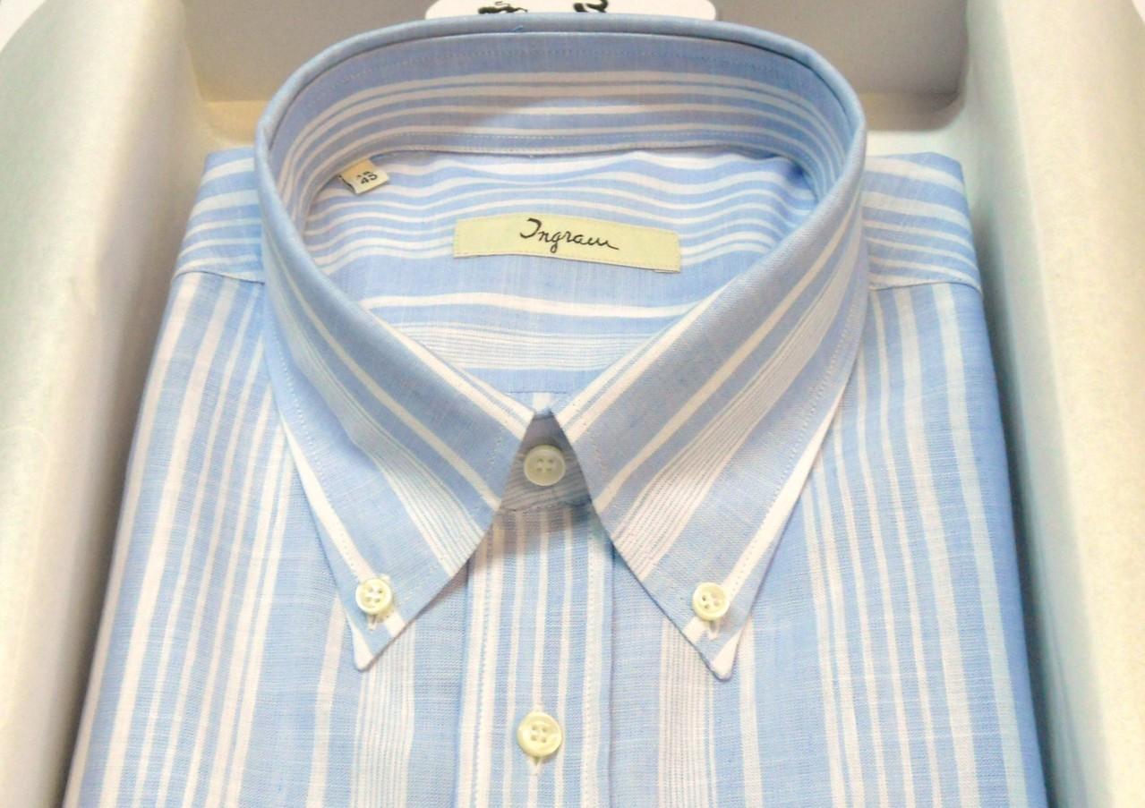 a93ba91a41 Camicia Uomo Grandi Taglie Lino+cotone