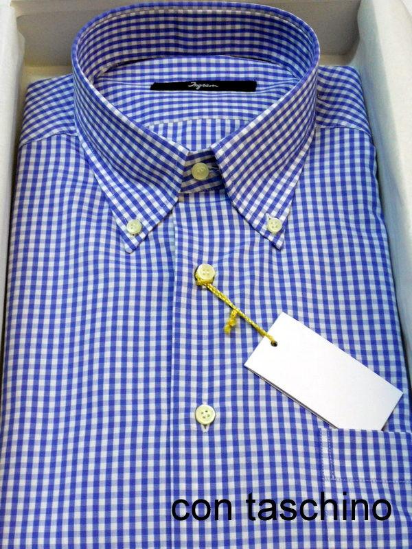 best loved 390d5 ebd85 Camicia Ingram 100% cotone A Quadri - BELLUCCI