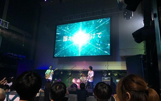 渋谷wombでのライブの様子