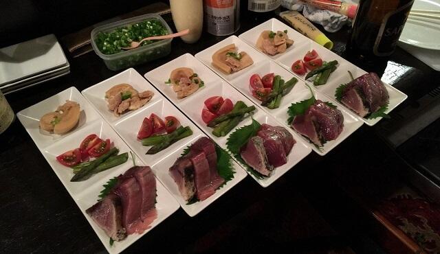 新宿con ton tonで開催された「料理と音楽のコラボ企画」で出された前菜