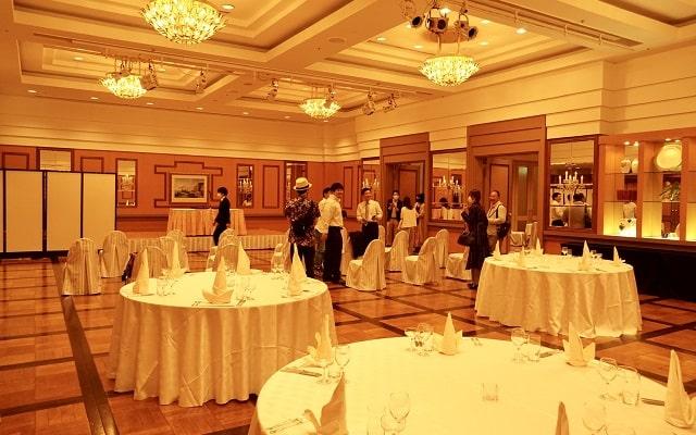 横浜インターコンチネンタルホテルのシルクの会場