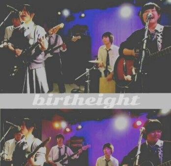 高校生バンドの「birtheight」が演奏している画像