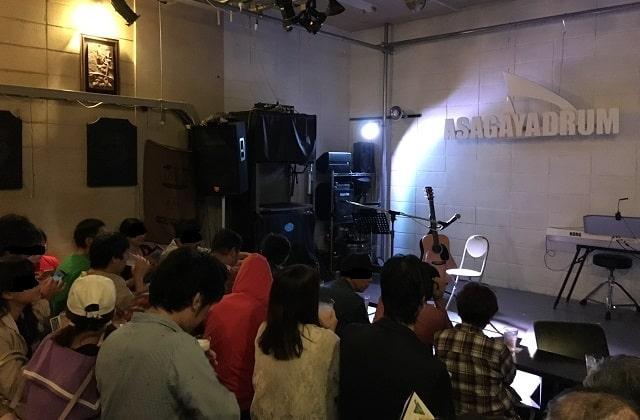 zepp東京出演の予選会場「あさがやドラム」開演前の様子