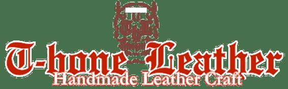 t-bone leather logo