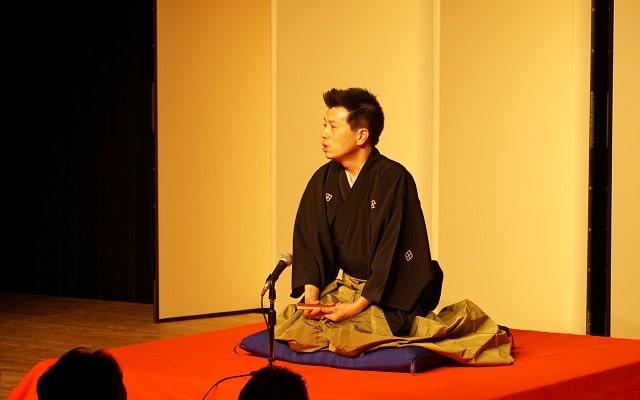 林家たけ平さんによる「中村仲蔵」の演目
