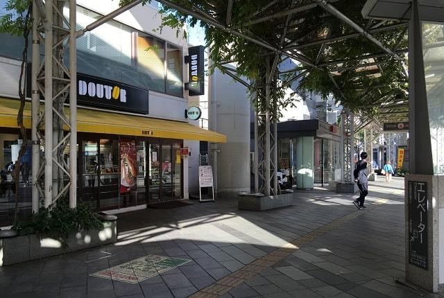 ドトールコーヒーショップ千葉駅東口店の外観