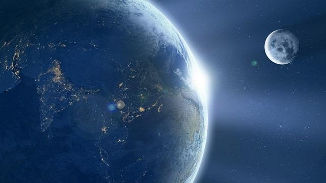 壮大な地球の画像