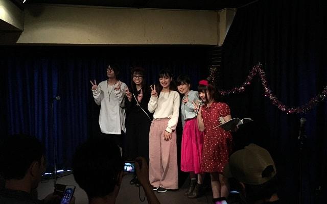 渋谷ガールズスタイルの撮影タイムの集合写真