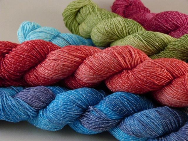 MeRo Sockenwolle mit Baumwolle