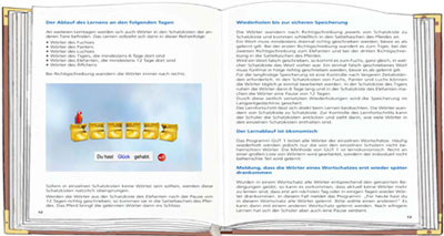 Bild eines Buches als Symbol für das Manual des Rechtschreib-Aufbau-Trainings