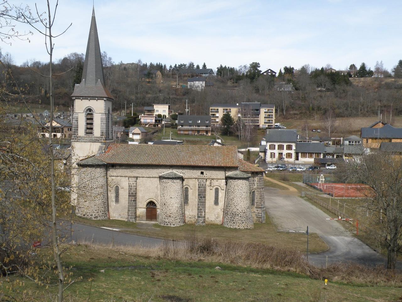 L'église d'Aydat