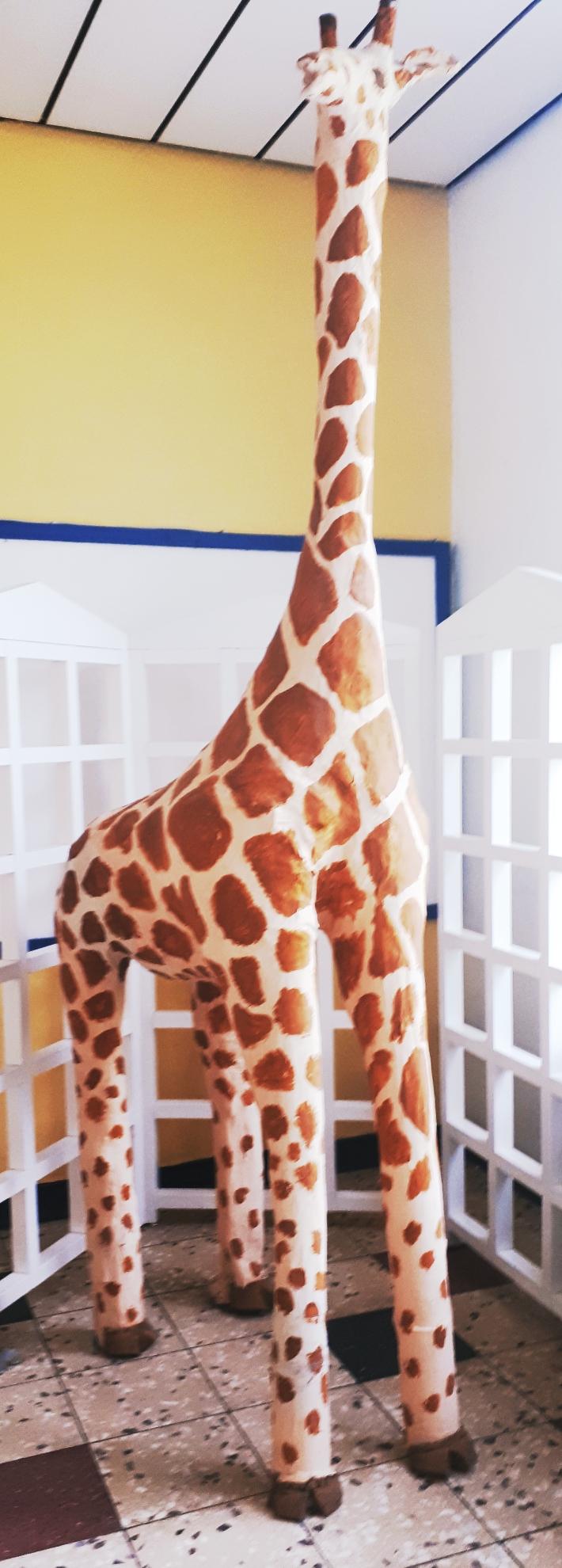 Hier lernst du die Giraffensprache !