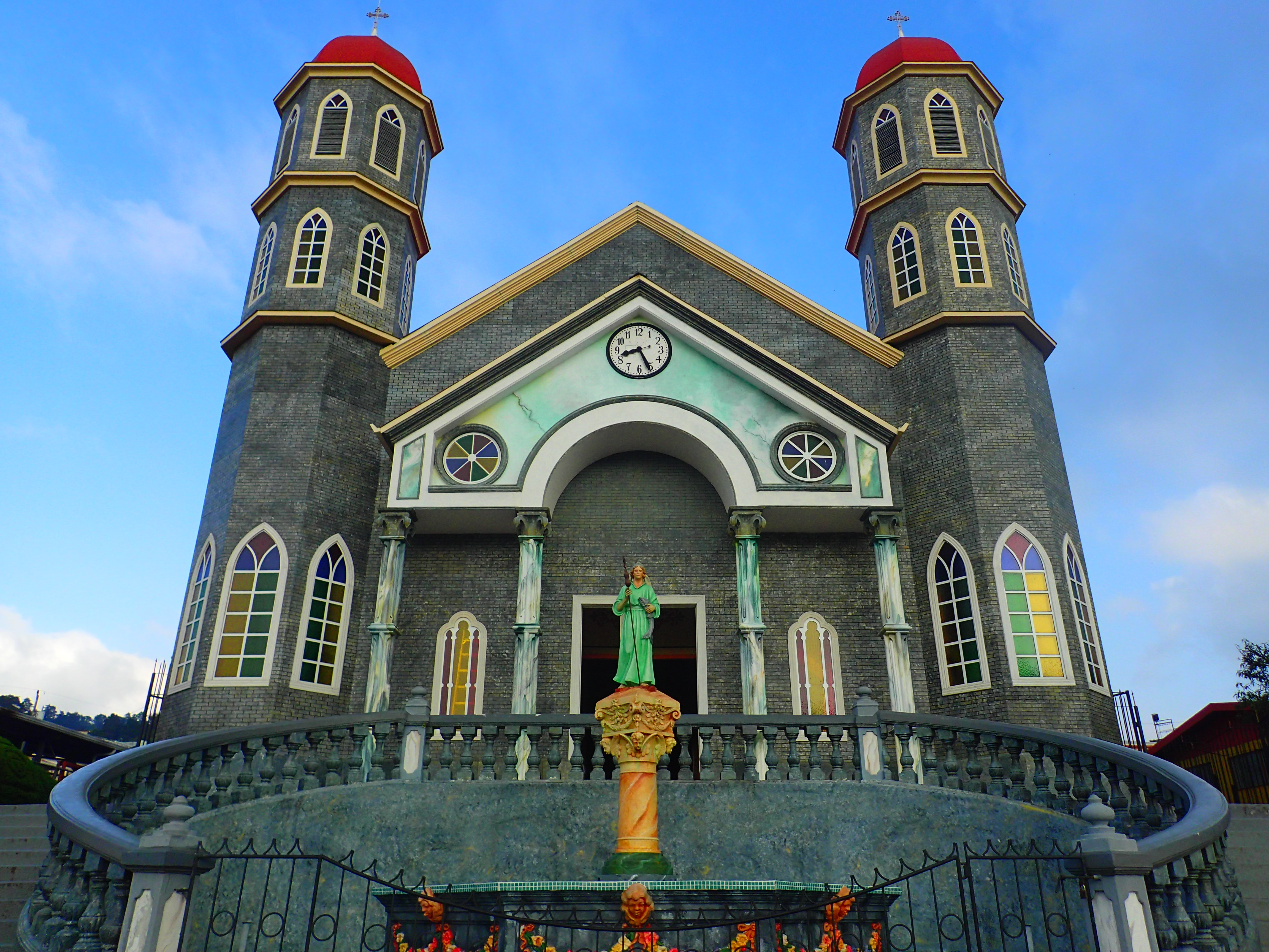 Eglise Zarcero. COSTA RICA. missaventure blog