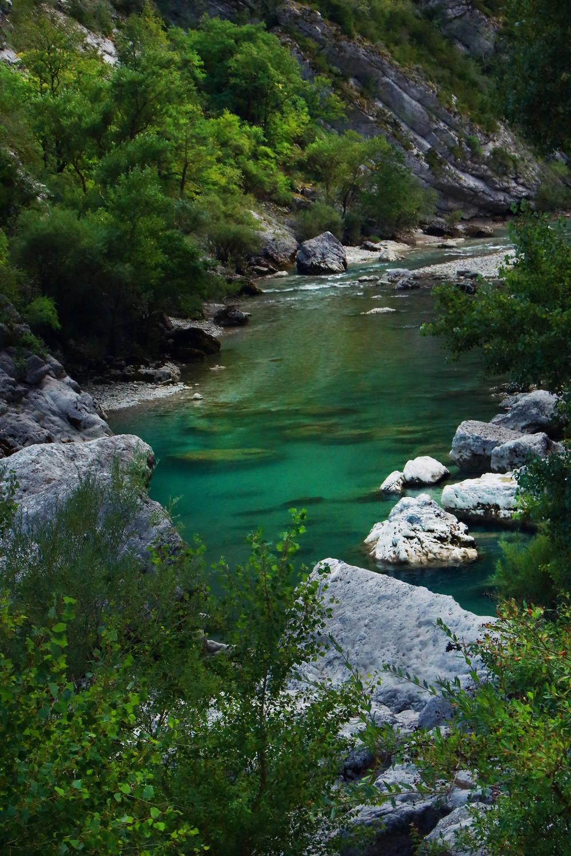 La beauté de la riviere du Verdon