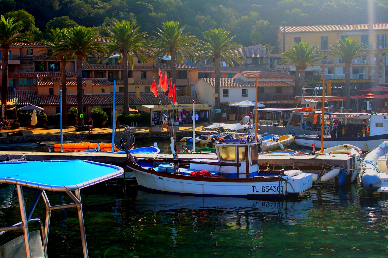 Port de PORT CROS, Hyères (FRANCE)