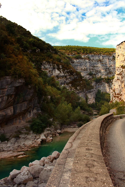 Sur la route de Castellane