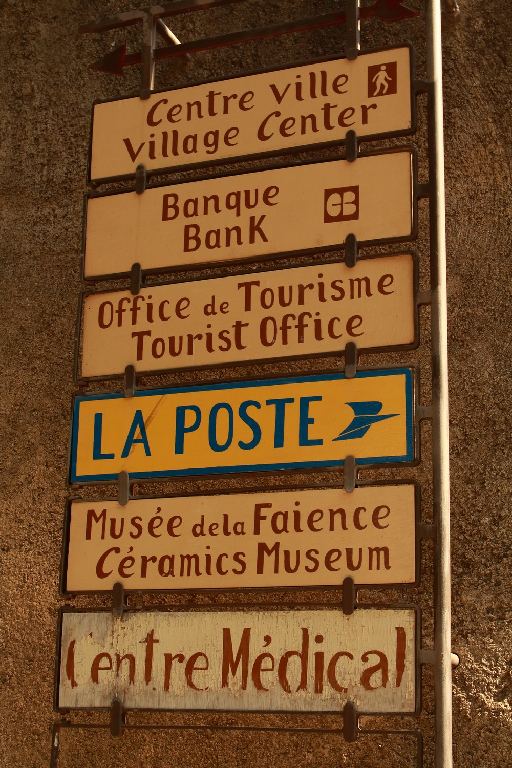 signaletique de Moustiers St Marie