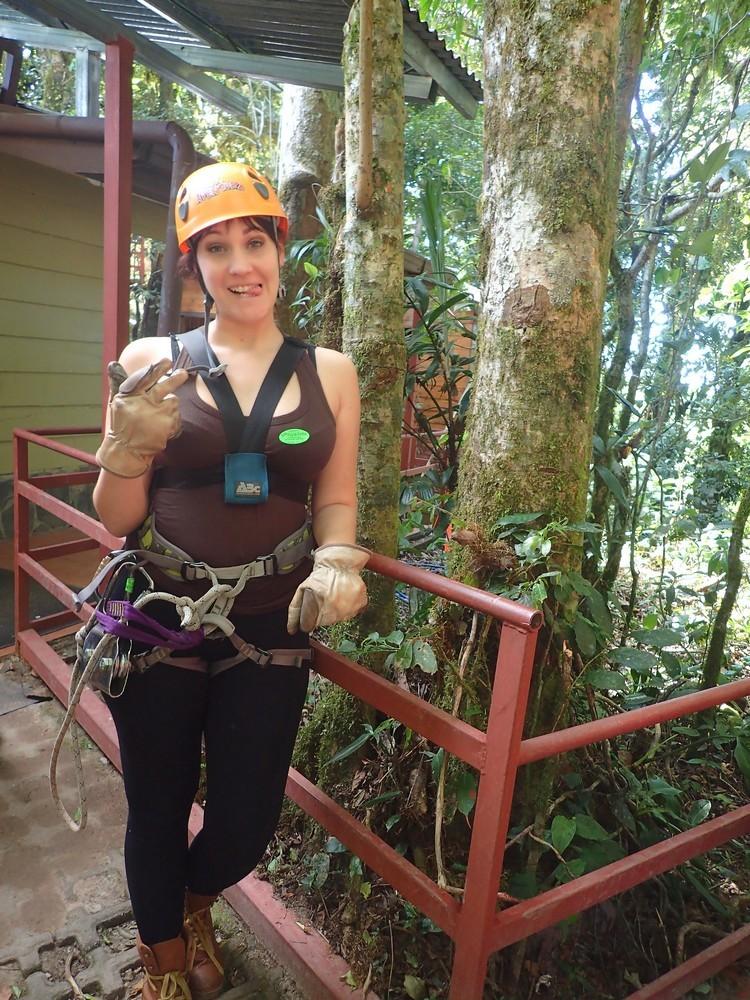 100% aventura. Monteverde Costa Rica. missaventure blog