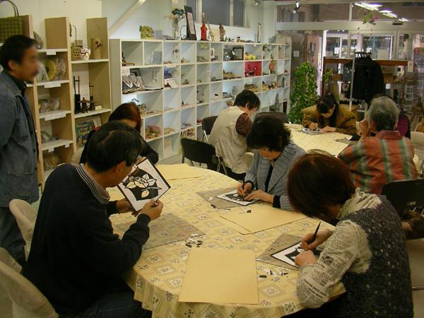 切り絵講座(不定期開催)