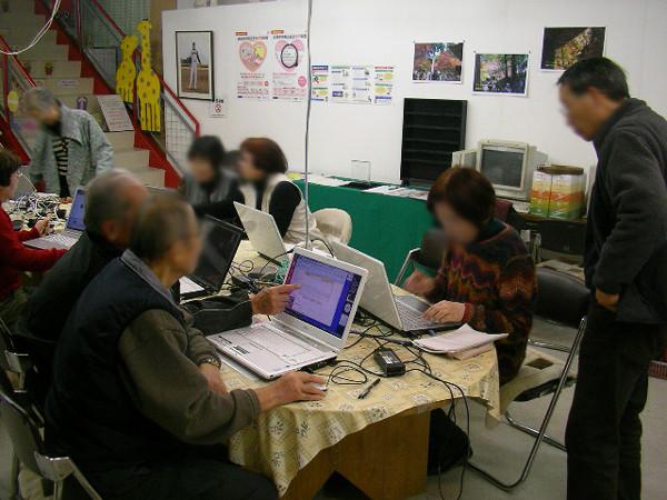 パソコン・シニア倶楽部 開催風景