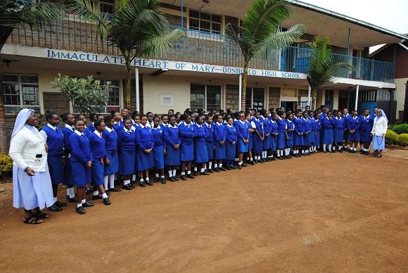 Aktuell besuchen 104 Mädchen die DBHS