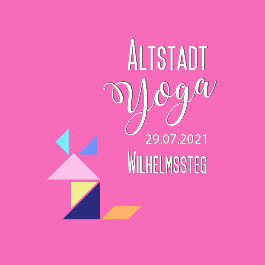 Yoga am Wilhelmssteg