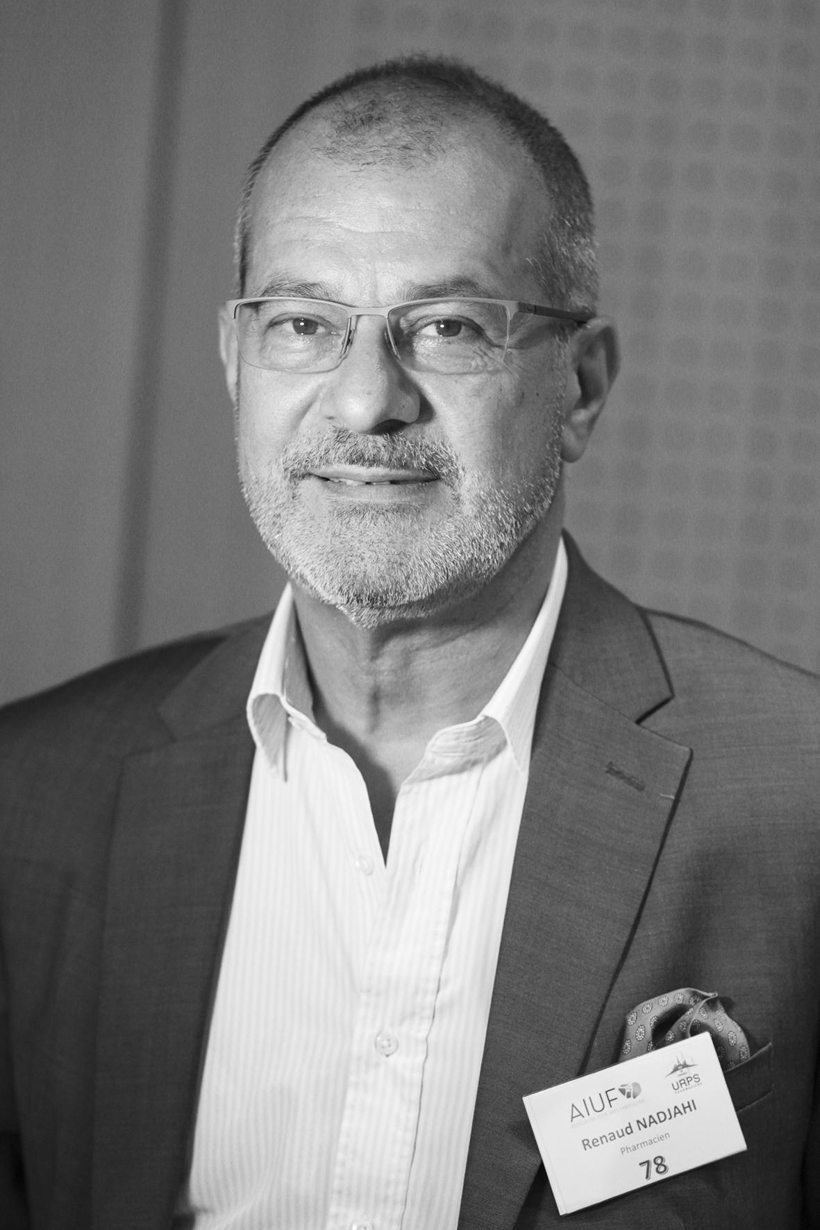 URPS Pharmaciens  Renaud Nadjahi