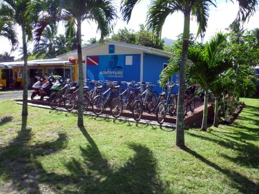 hire bikes in Rarotonga, Adventure Cook Islands bike hire, get bikes Rarotonga, ride bikes around Rarotonga,